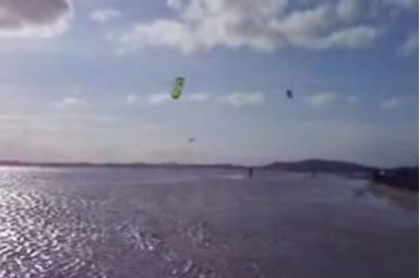 Kitesurf em Arubinha – Praia Seca – Rio de Janeiro